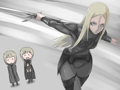 *Cynthia and Clare and shocked with the skills of Yuma*