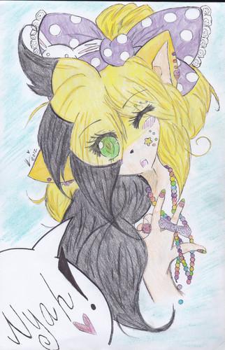 .:Who's That Chick?!:. ~ Rima Angelhog (Colored!)