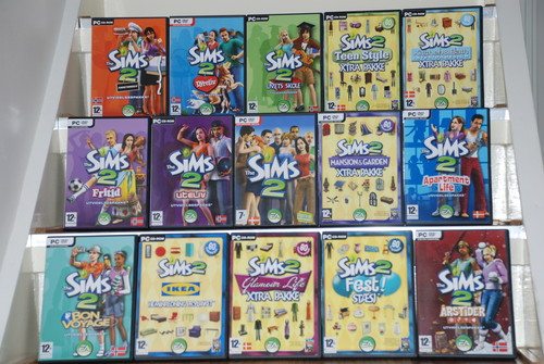 All sims 2 games