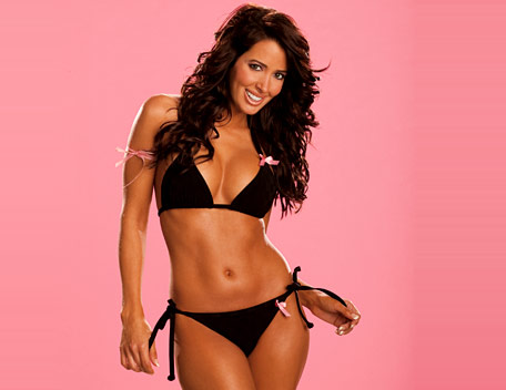 wwe divas fondo de pantalla containing a bikini called Amy Weber Photoshoot Flashback