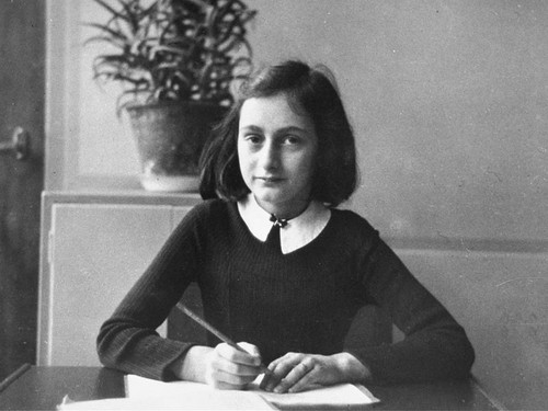 "Annelies Marie ""Anne"" Frank ,12 June 1929 – early March 1945"