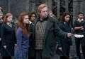 Arthur and Ginny Weasley