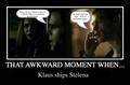 Awkward TVD moments.