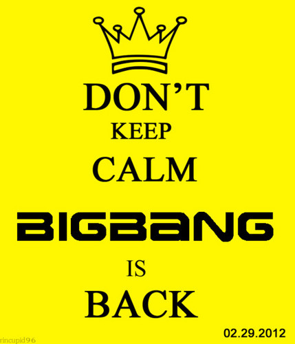 BIG BANG IS BACK!!