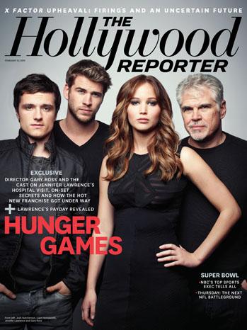 방탄소년단 of The Hollywood Reporters Hunger Games cover 사진 shoot