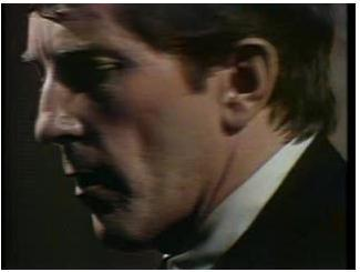 Dark Shadows fond d'écran possibly with a business suit and a portrait called Barnabas Collins, 1970.
