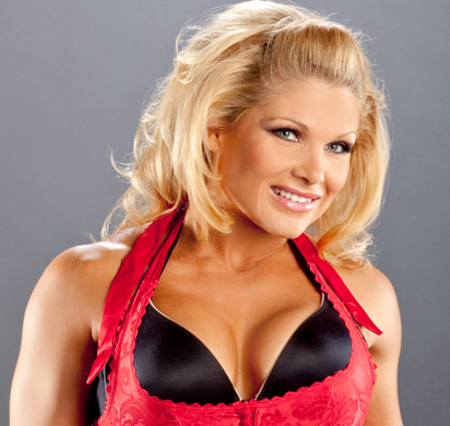beth phoenix wallpaper probably with attractiveness and a portrait called Beth Phoenix Photoshoot Flashback