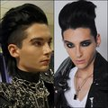 Bill without and with make up