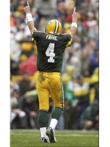 Brett Favre wallpaper containing a lineman, a punter, and a tight end titled Brett Favre