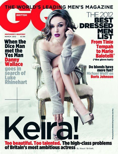 British GQ magazine March 2012