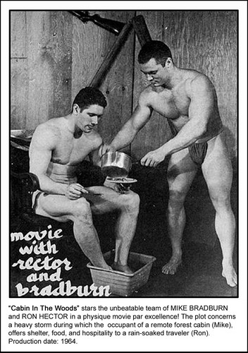 Cabin in the Woods - vintage-beefcake Photo