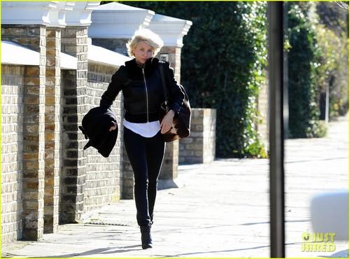 Cameron Diaz Leaves Gwyneth Paltrow's Place