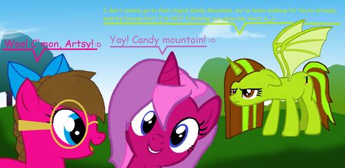 キャンディー Mountain :D