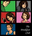 Cartoon breakfast club