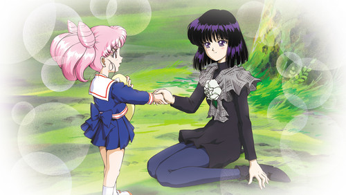 Sailor Saturn wallpaper entitled Chibiusa & Hotaru