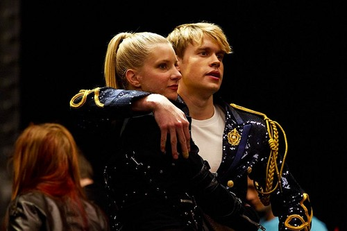 Chord and Heather behind the scenes episode Michael