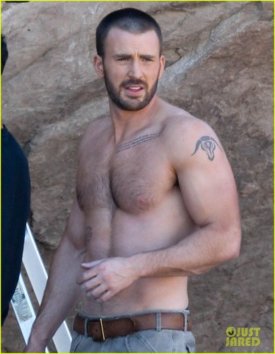 Chris Evans: Shirtless 'Details' Magazine Shoot!