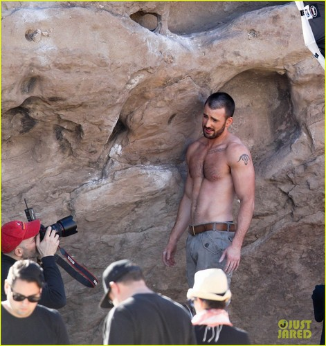 Chris Evans: Shirtless &#39;Details&#39; Magazine Shoot! - chris-evans Photo