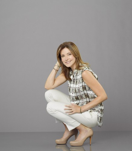 Christa Miller wallpaper possibly containing bare legs, tights, and a chemise titled Christa Miller