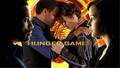 Cinna and Katniss - the-hunger-games wallpaper