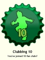 Clubbing 10 Cap
