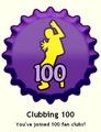 Clubbing 100 Cap