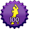 Fanpop badges foto entitled Clubbing 100 pet, glb