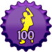 Clubbing 100 Cap - fanpop-caps icon