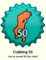 Clubbing 50 Cap