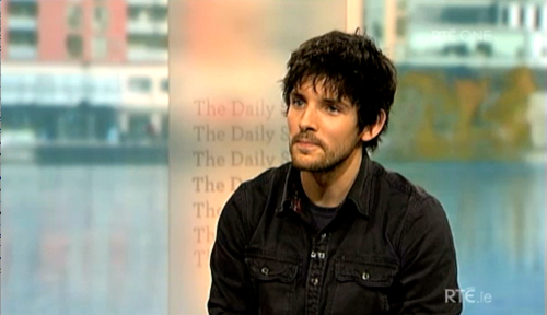 Colin モーガン, モルガン on RTÉ's 'The Daily Show'