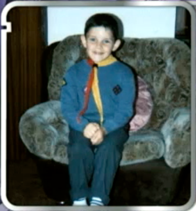 colin morgan wallpaper containing a sign titled Colin as a kid