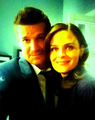 "DB Tweets: ""Look who I found"" <3  - emily-deschanel photo"
