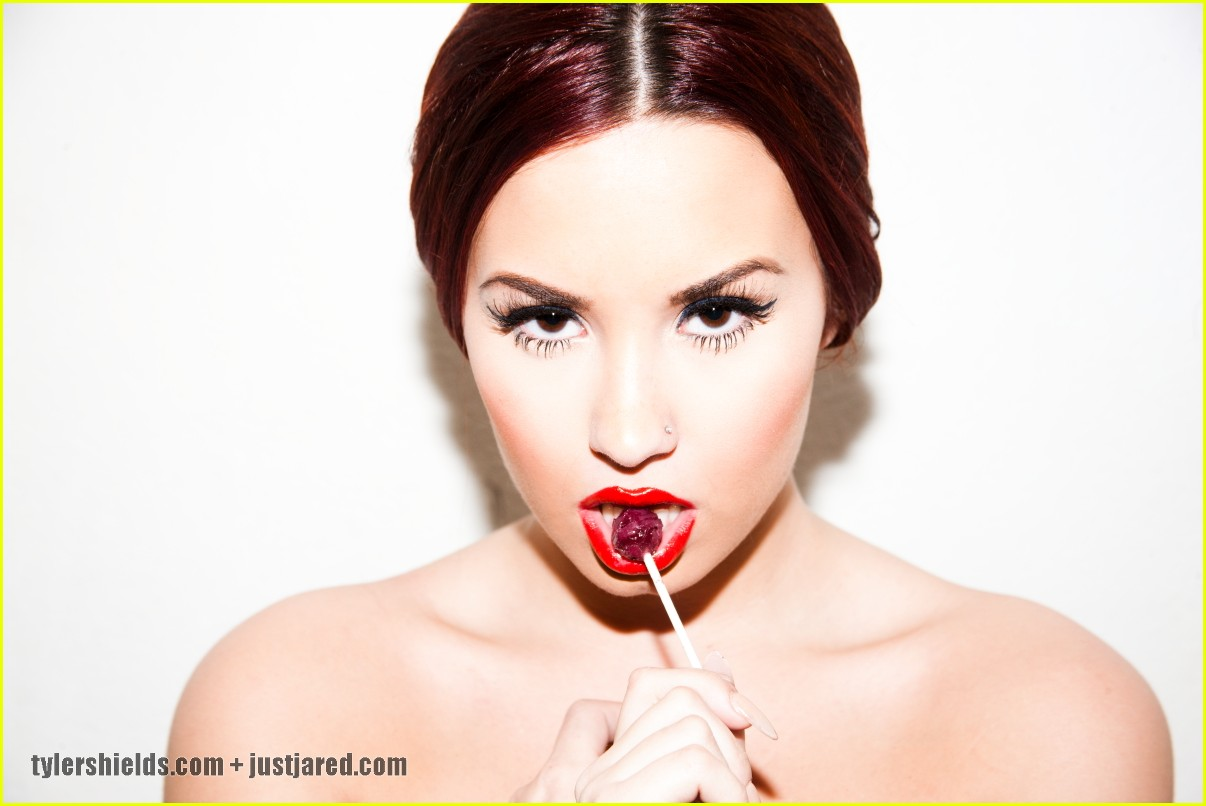 Demi Lovato: Tyler Shields Photo Shoot!