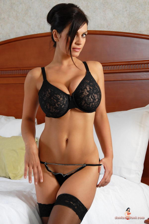 Denise Milani Lingerie Photo 28736157 Fanpop