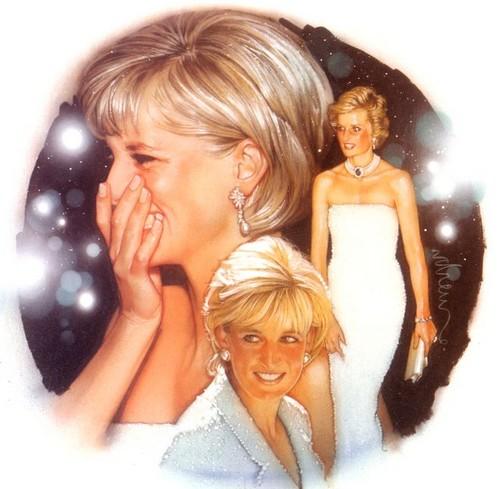 Công nương Diana hình nền with a portrait called Diana, Princess of Wales