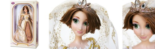 Дисней Store - Limited Edition Rapunzel Wedding Doll