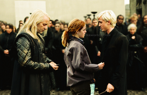 Dramione wallpaper containing a business suit and a well dressed person called Draco/Hermione