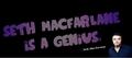 FB: Bild für die Chronik - seth-macfarlane fan art