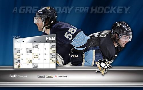 February 2012 Calendar/Schedule