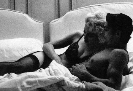 From the making of the Justify My 愛 video