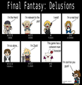 Funny Final Fantasy comic