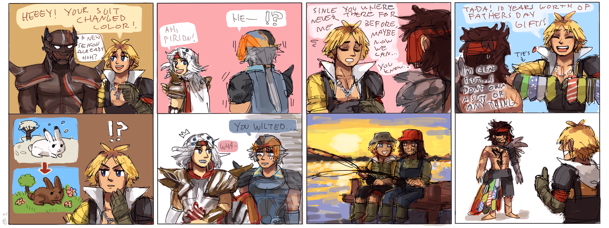 Final Fantasy Funny Final Fantasy comic