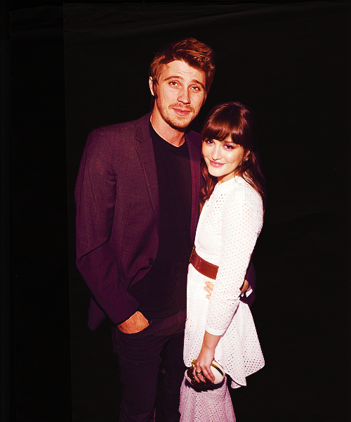 Garrett Hedlund and Leighton Meester images G&L wallpaper ...