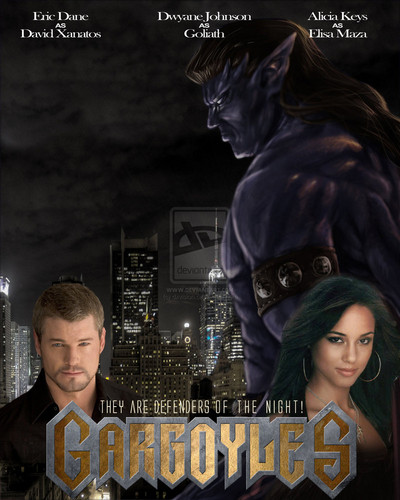 Gargoyles fan-made movie poster