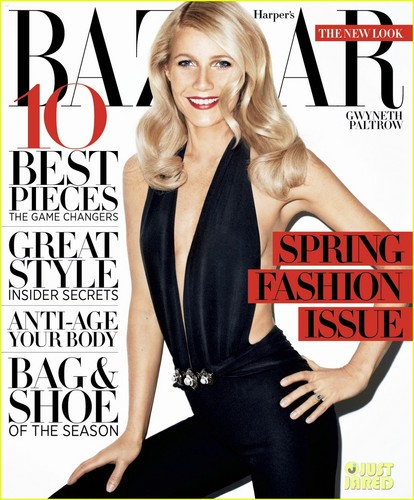 Gwyneth Paltrow Covers 'Harper's Bazaar' March 2012