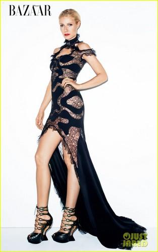 Gwyneth Paltrow Covers 'Harper's Bazaar' March 2012