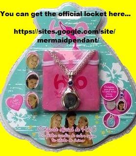 H2o H2o locket