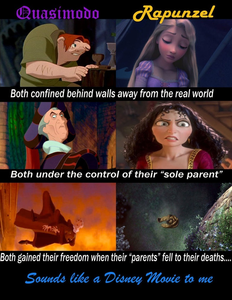 The Hunchback of Notre Dame   Tangled images HOND   Tangled  D HD