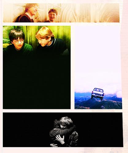Harry x Ron