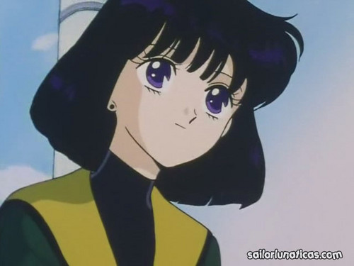 Sailor Saturn Hintergrund containing Anime entitled Hotaru Tomoe